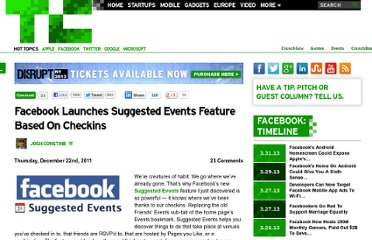 http://techcrunch.com/2011/12/22/facebook-suggested-events/
