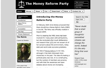 http://www.moneyreformparty.org.uk/introducing_the_party.php