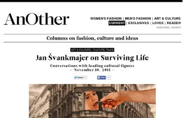 http://www.anothermag.com/current/view/1589/Jan_%C5%A0vankmajer_Surviving_Life