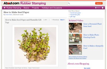 http://rubberstamping.about.com/od/projects/ss/HandmadeSeedPaper.htm