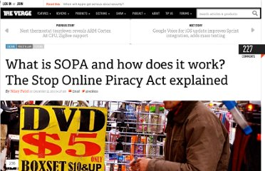 http://www.theverge.com/2011/12/22/2648219/stop-online-piracy-act-sopa-what-is-it