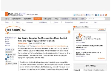 http://reason.com/blog/2011/12/23/lee-county-deputies-tied-suspect-to-a-ch