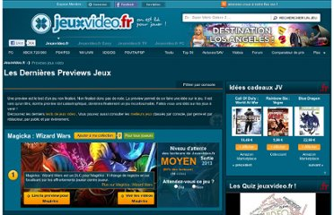 http://www.jeuxvideo.fr/previews-jeux-video.html