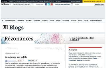 http://rezonances.blog.lemonde.fr/2011/12/23/en-quete-de-sciences/