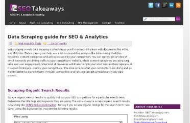 http://www.seotakeaways.com/data-scraping-guide-for-seo/