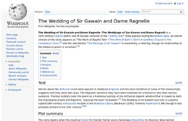 http://en.wikipedia.org/wiki/The_Wedding_of_Sir_Gawain_and_Dame_Ragnelle