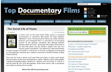 http://topdocumentaryfilms.com/the-secret-life-of-plants/