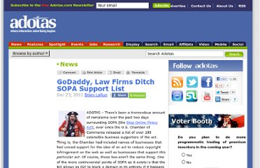 http://www.adotas.com/2011/12/godaddy-law-firms-ditch-sopa-support-list/
