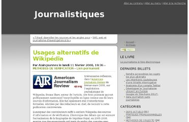 http://www.journalistiques.fr/post/2008/02/11/Usages-alternatifs-Wikipedia
