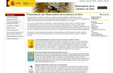http://www.mcu.es/libro/MC/ObservatorioLect/index.html