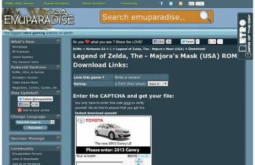 http://www.emuparadise.me/Nintendo_64_ROMs/Legend_of_Zelda,_The_-_Majora%27s_Mask_(USA)/39909-download