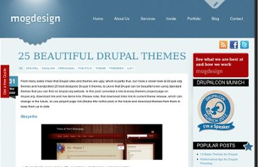 http://mogdesign.eu/blog/25-beautiful-drupal-themes