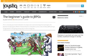 http://www.joystiq.com/2011/12/23/the-beginners-guide-to-jrpgs/