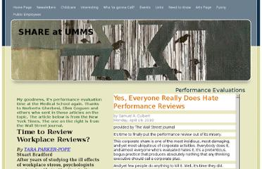 http://shareumms.net/Performance_Evaluations.html