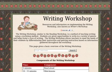 http://www.busyteacherscafe.com/literacy/writing_workshop.html