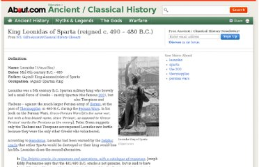 http://ancienthistory.about.com/cs/people/g/leonidas.htm