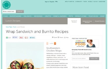 http://www.marthastewart.com/853547/wrap-sandwich-and-burrito-recipes