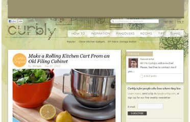 http://www.curbly.com/users/chrisjob/posts/11145-make-a-rolling-kitchen-cart-from-an-old-filing-cabinet