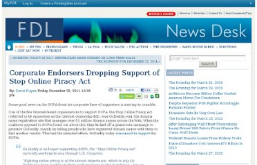 http://news.firedoglake.com/2011/12/23/corporate-endorsers-dropping-support-of-stop-online-piracy-act/