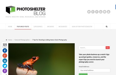 http://blog.photoshelter.com/2011/12/7-tips-for-shooting-selling-nature-stock-photography/