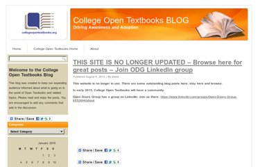 http://www.collegeopentextbooks.org/blog/