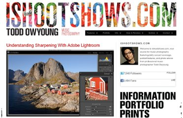 http://www.ishootshows.com/2010/08/31/tutorial-sharpening-with-adobe-lightroom/