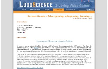 http://www.ludoscience.com/FR/diffusion/284-Serious-Games-%253A-Advergaming%252C-edugaming%252C-training.html