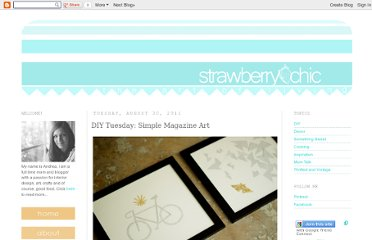 http://strawberry-chic.blogspot.com/2011/08/diy-tuesday-simple-magazine-art.html