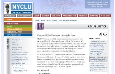 http://www.nyclu.org/issues/racial-justice/stop-and-frisk-practices