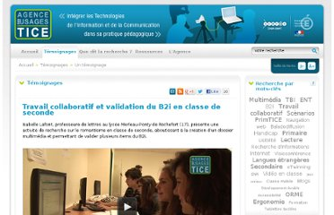 http://www.cndp.fr/agence-usages-tice/temoignages/travail-collaboratif-et-validation-du-b2i-en-classe-de-seconde-1191.htm