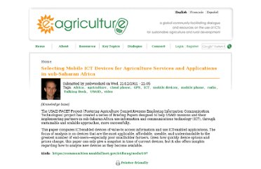 http://www.e-agriculture.org/content/selecting-mobile-ict-devices-agriculture-services-and-applications-sub-saharan-africa