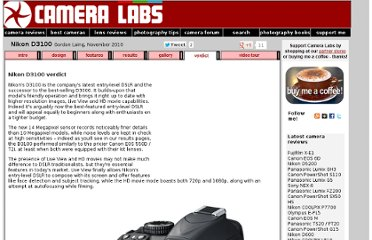 http://www.cameralabs.com/reviews/Nikon_D3100/verdict.shtml