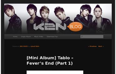 http://k2nblog.com/mini-album-tablo-fevers-end-part-1/
