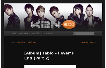 http://k2nblog.com/album-tablo-fevers-end-part-2/