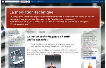 http://mediationtechnique.blogspot.com/2011/05/la-veille-technologique-loutil.html
