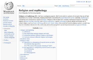 http://en.wikipedia.org/wiki/Religion_and_mythology