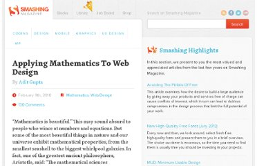 http://www.smashingmagazine.com/2010/02/09/applying-mathematics-to-web-design/