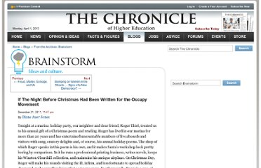 http://chronicle.com/blogs/brainstorm/if-the-night-before-christmas-had-been-written-for-the-occupy-movement/42397