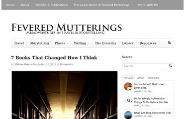 http://mikesowden.org/feveredmutterings/baffled-into-being-myself7-books-that-changed-how-i-think