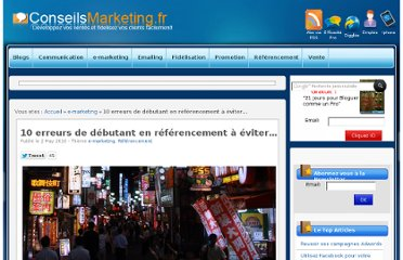 http://www.conseilsmarketing.com/referencement/10-erreurs-de-debutant-en-referencement