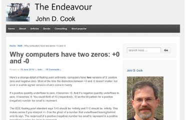 http://www.johndcook.com/blog/2010/06/15/why-computers-have-signed-zero/