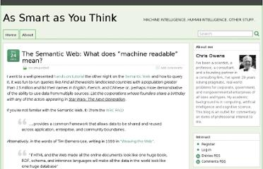 http://chris-owens.com/wp/2011/12/24/the-semantic-web-what-does-machine-readable-mean/