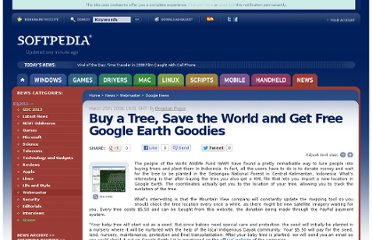 http://news.softpedia.com/news/Buy-a-Tree-Save-the-World-and-Get-Free-Google-Earth-Goodies-81599.shtml