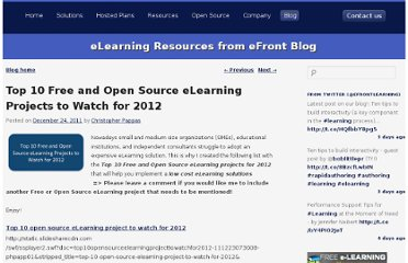 http://blog.efrontlearning.net/2011/12/top-10-free-and-open-source-elearning.html