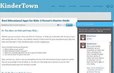 http://www.kindertown.com/best-educational-apps-for-kids-a-parents-starter-guide/