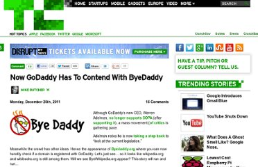 http://techcrunch.com/2011/12/26/now-godaddy-has-to-contend-with-byedaddy/