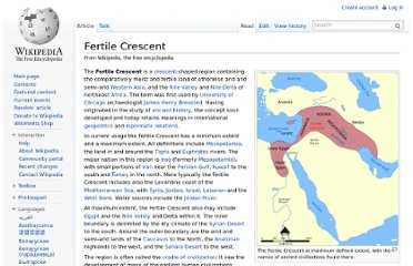 http://en.wikipedia.org/wiki/Fertile_Crescent