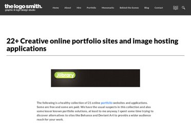 http://imjustcreative.com/21-creative-online-portfolio-sites-and-applications/2010/02/08/