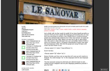 http://thesamovar.wordpress.com/2007/09/24/make-google-search-in-english-or-any-other-language-you-like/