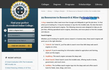 http://www.collegedegree.com/library/college-life/99-resources-to/
